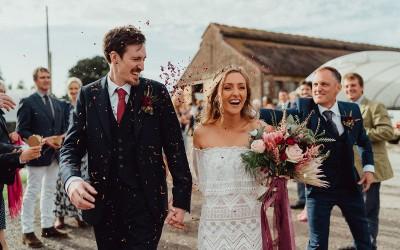 Rustic Farm Wedding – Rachel and Nick's perfect day