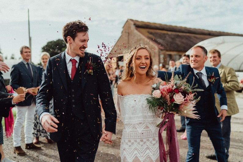 Rustic Farm Wedding – Rachel and Nick's perfect day
