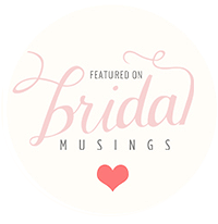 As featured on Bridal Musings