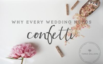 Why Every Wedding Needs Confetti