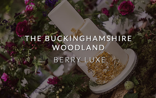 Berry Luxe – An Inspirational Wedding Photo Shoot In The Buckinghamshire Woodland