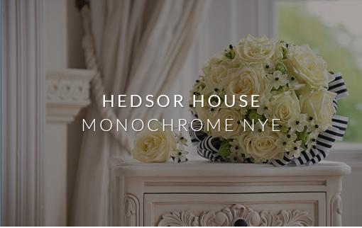 Hedsor House - Monochrome NYE
